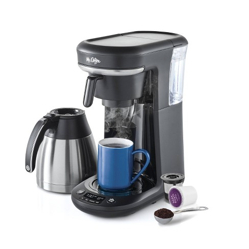 Mr. Coffee Pod + 10-Cup Space-Saving Combo Brewer - image 1 of 4