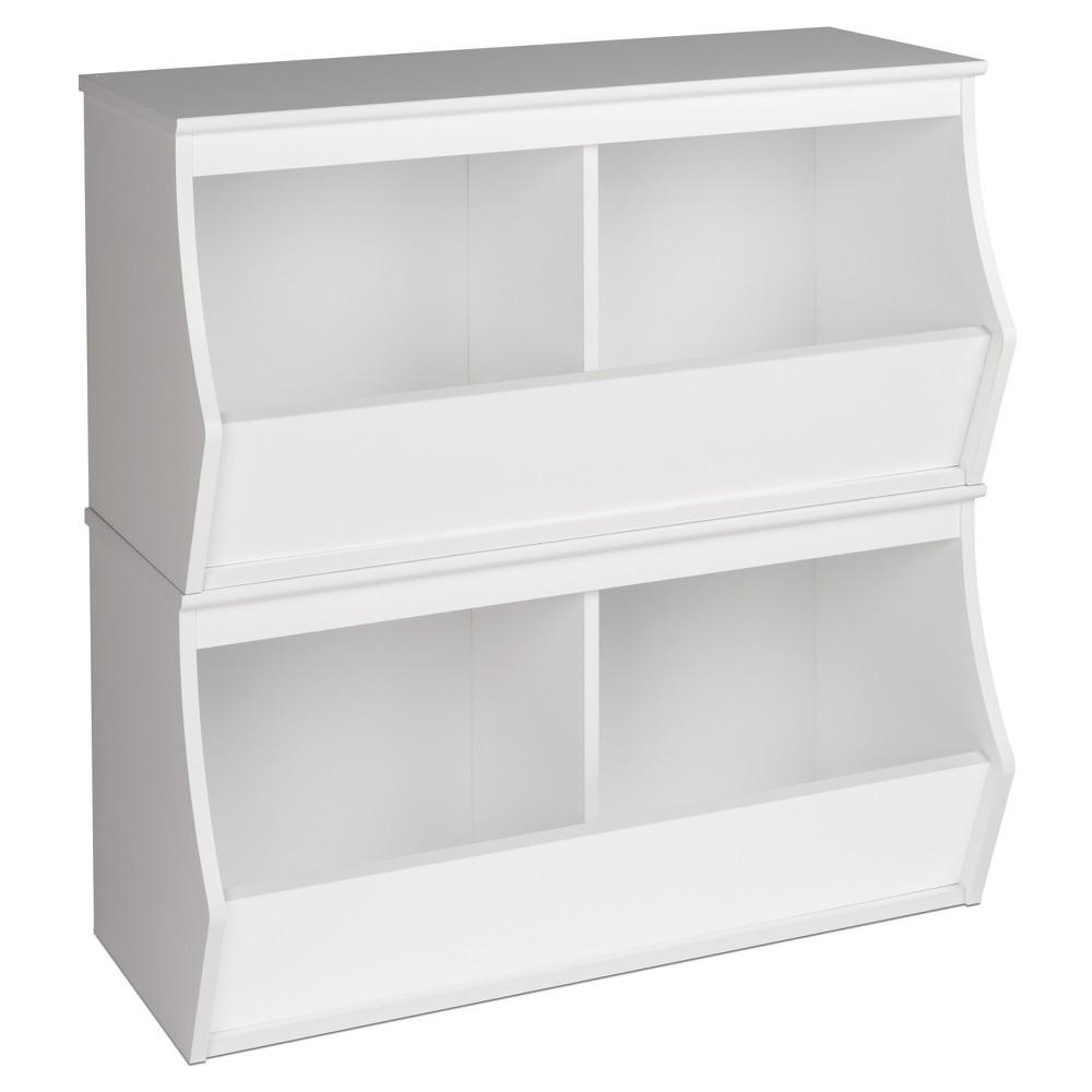 Image of Fremont Entryway Storage Cubbie - 4 Bin - White - Prepac
