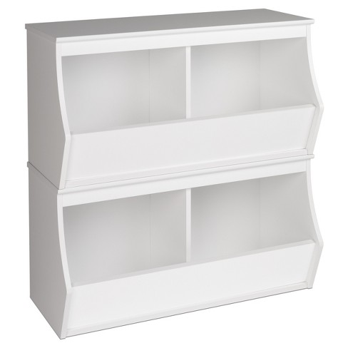 Fremont Entryway Storage Cubbie - 4 Bin - White - Prepac - image 1 of 3