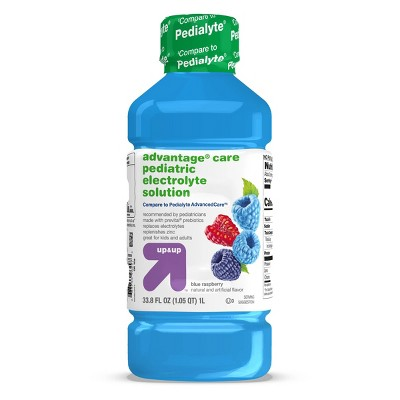 Blue Raspberry Oral Electrolyte Solution - 1L - up & up™