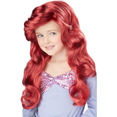 California Costumes Little Mermaid Costume Wig