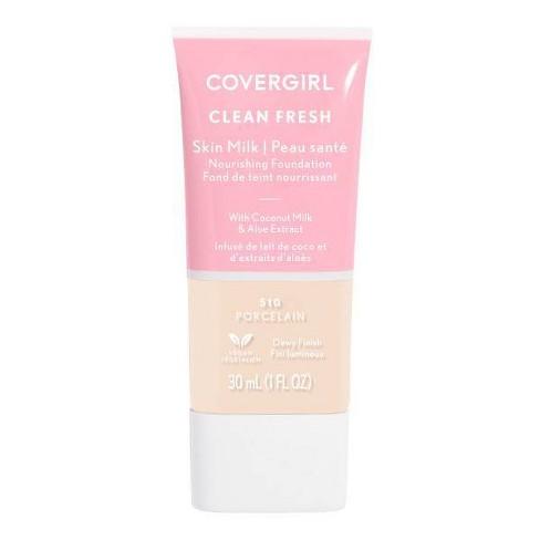 COVERGIRL Clean Fresh Skin Milk Foundation Dewy Finish - 1 fl oz - image 1 of 4