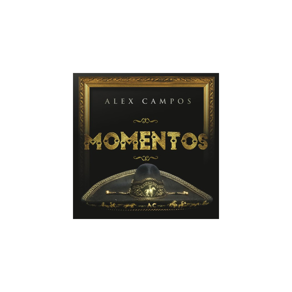 Alex Campos - Momentos (CD)