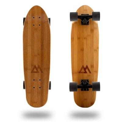"""Magneto Boards 27.5"""" Bamboo Mini Cruiser Skateboard"""