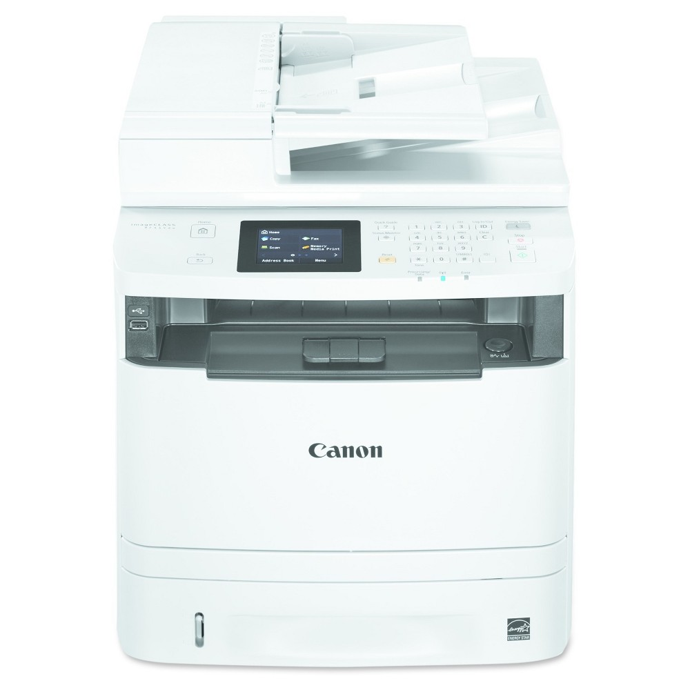 Canon imageClass MF414dw Multifunction Wireless Laser Printer, Copy/Fax/Print/Scan (0291C020) Wireless, duplex, AirPrint printer with easy to use color touch display delivers fast, exceptional black and white laser output at a lightning fast 35 pages per minute. Features security and mobile solutions for printing on the go. Machine Functions: Copy; Fax; Print; Scan; Printer Type: Laser; Maximum Print Speed (Black): 35 ppm; Network Ready: Yes.