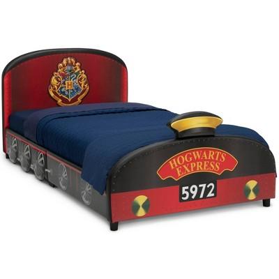 Twin Harry Potter Hogwarts Express Upholstered Bed - Delta Children