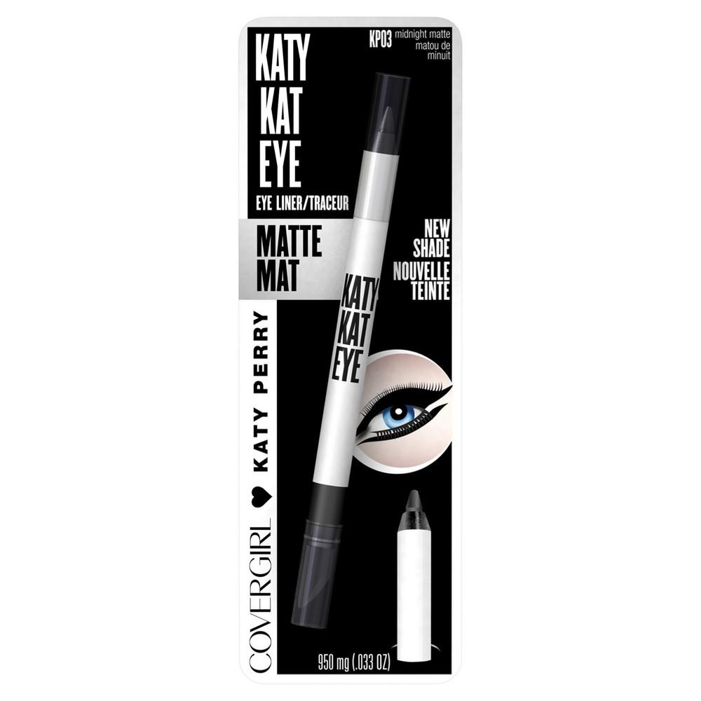 Covergirl Katy Kat Eyeliner KP03 Midnight Matte - 0.033oz