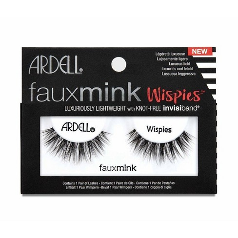 Ardell Eyelash Wispies Faux Mink Black - 1pr - image 1 of 3