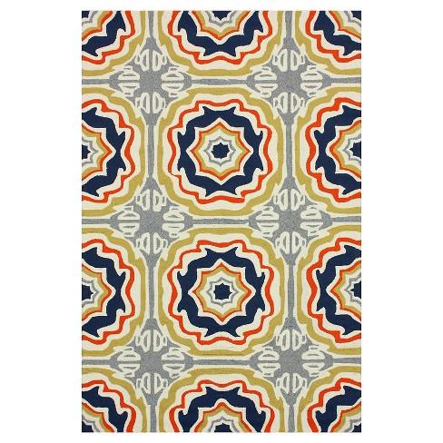 Nuloom Hand Hooked Sevilla Tiles Indoor Outdoor Rug Target