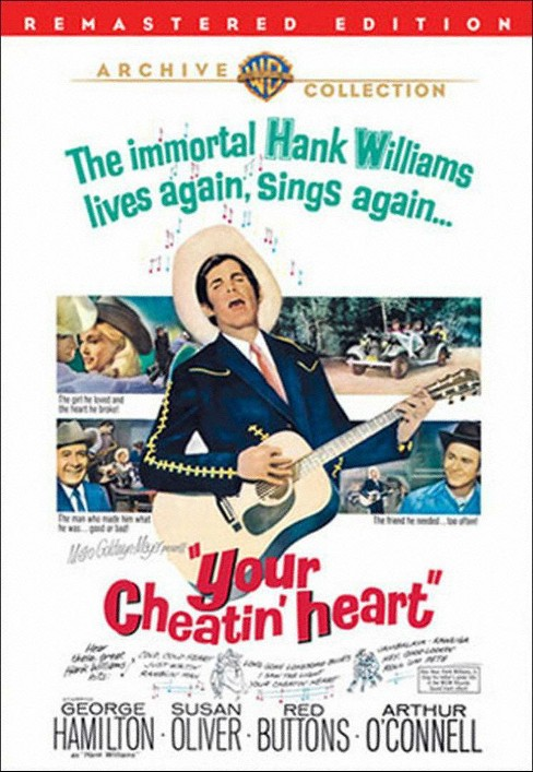 Your cheatin heart (DVD) - image 1 of 1