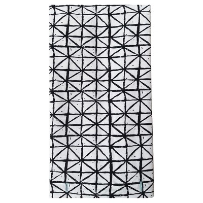 Printed Shower Curtain Triangles Black/White - Project 62™