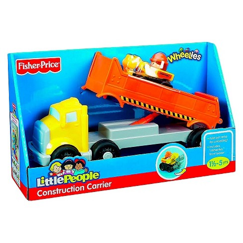 Little People Construction Carrier Set - image 1 of 1