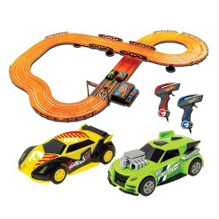 Hot Wheels Slot Track Set with 12.4ft Track - 1:43 Scale