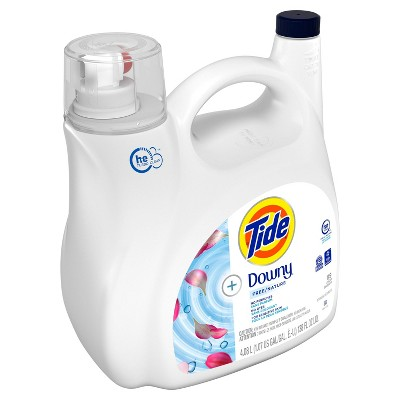 Laundry Detergent: Tide + Downy Free