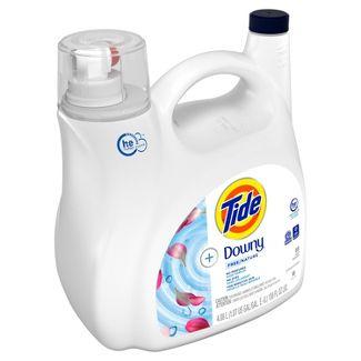 Tide +Downy Free Liquid Laundry Detergent - 138 fl oz