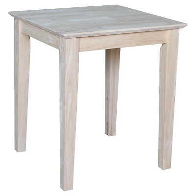 Shaker Tall End Table - International Concepts