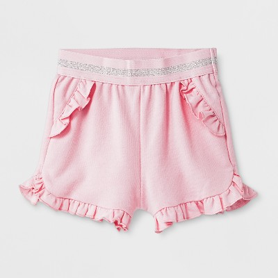 Baby Girls' Trouser Shorts - Cat & Jack™ Pink Newborn