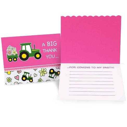 John Deere 8ct Thank You Notes - image 1 of 1