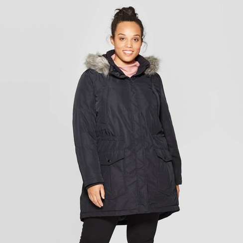 Women's Plus Size Arctic Parka - Ava & Viv™ - image 1 of 3