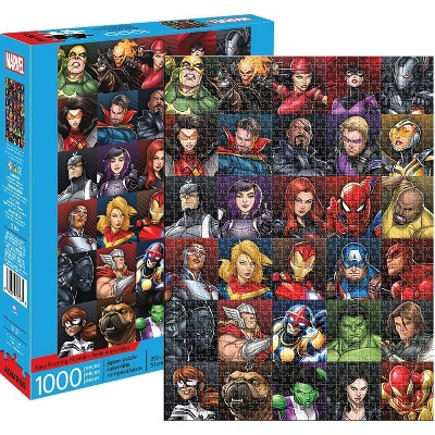 NMR Distribution Marvel Heroes Collage 1000 Piece Jigsaw Puzzle