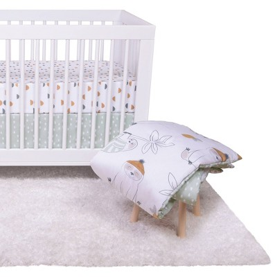 Trend Lab Crib Set Sloth Playground - 4pc