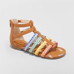 1d145f5c9c96 Girls  Gladiator Rainbow Valiant Sandals - Cat   Jack™ Cognac