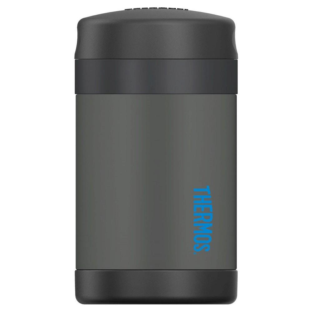 Thermos 16oz Funtainer Food Jar w/Spoon – Smoke (Grey)