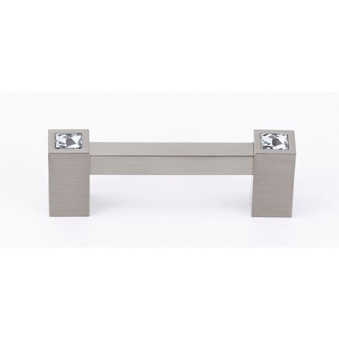 """Alno C718-3 Contemporary Crystal 3"""" Center to Center Handle Cabinet Pull - image 1 of 1"""