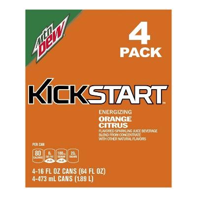 Soft Drinks: Mountain Dew Kickstart