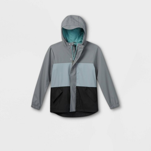 Boys' Solid Rain Jacket - Cat & Jack™ - image 1 of 2