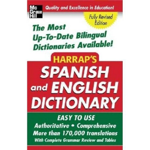 Harrap's Spanish and English Dictionary - (Paperback) - image 1 of 1