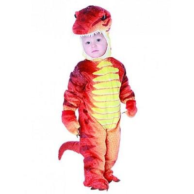 Underwraps Costumes T-Rex Rust Color Dinosaur Child Costume