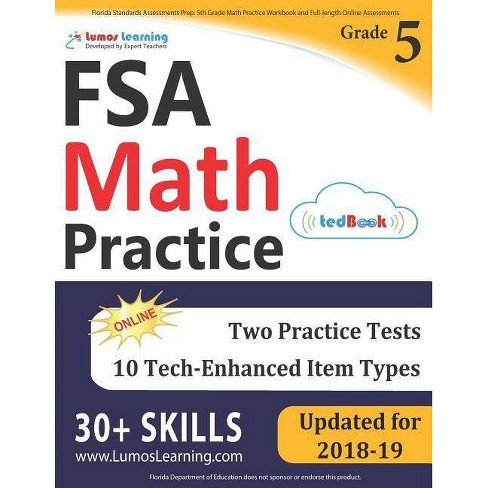 Florida Standards Assessments Prep - by  Lumos Learning (Paperback) - image 1 of 1