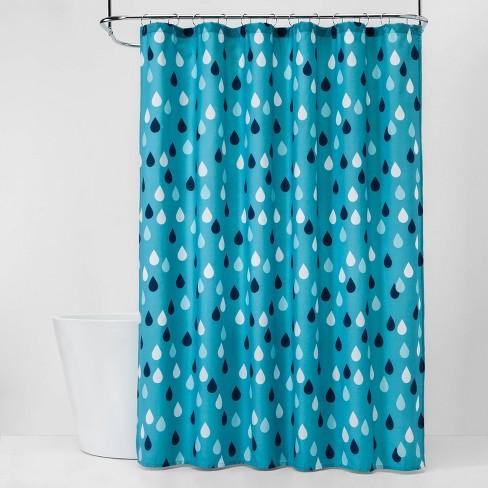 Raindrops Shower Curtain - Pillowfort™