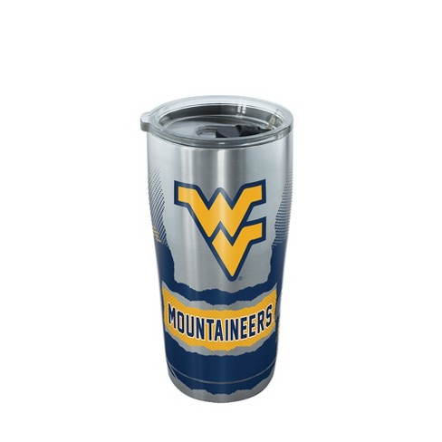 ee214d69b46 Tervis West Virginia Mountaineers Knockout 20oz Stainless Steel Tumbler  With Lid : Target