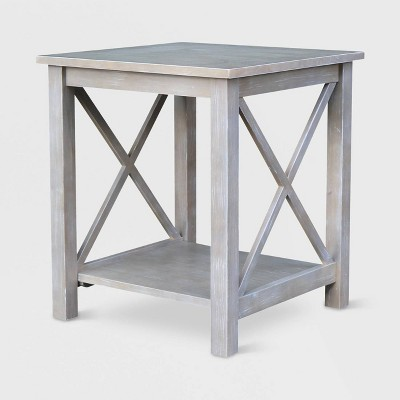 Hampton End Table - International Concepts
