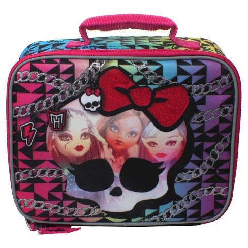 Monster High Lunch Tote - Pink/Black - image 1 of 1