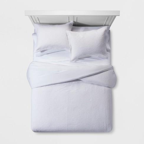 Matelasse Medallion Comforter Set Threshold Target