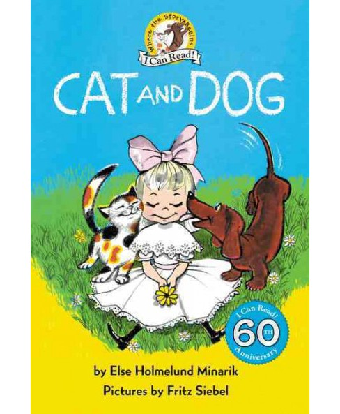 Cat and Dog (Hardcover) (Else Holmelund Minarik) - image 1 of 1