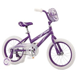 "Pacific Lolli 16"" Kids Bike - Purple/White"