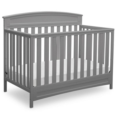 Delta Children Sutton 4-in-1 Convertible Crib - Gray