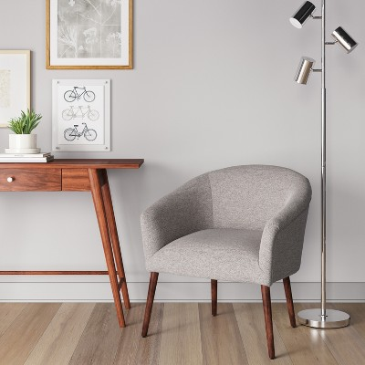 Superieur Pomeroy Barrel Chair Gray   Project 62™