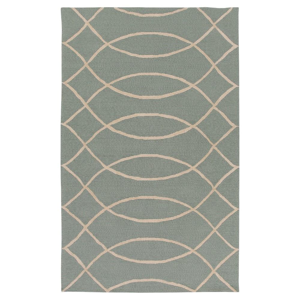 Surya Alexia 8' x 10' Outdoor Rug - Light Gray, Light Grey