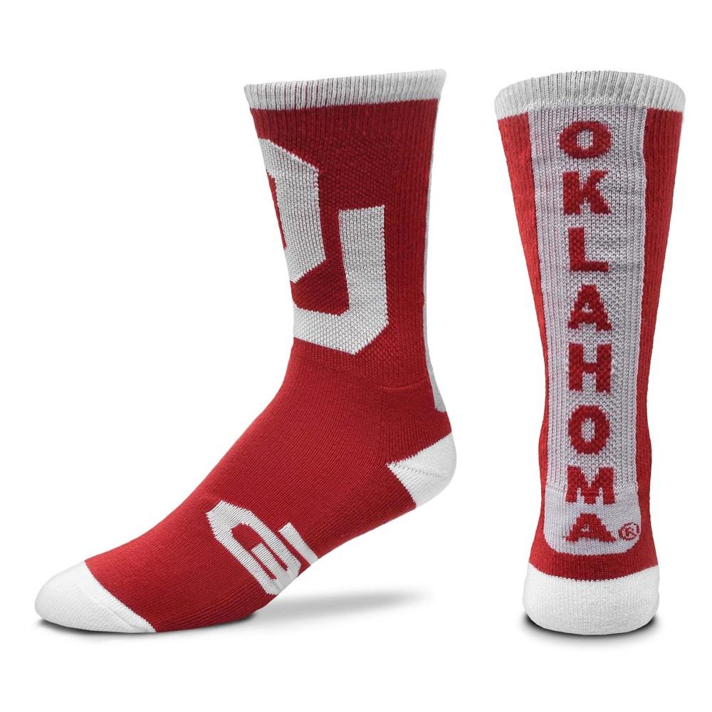 NCAA Oklahoma Sooners Ticket Crew Sock L, Men's
