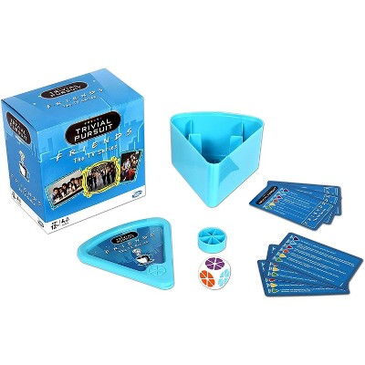 Winning Moves Games Friends Trivial Pursuit Quiz Game   Bite-Size Edition   For 2+ Players