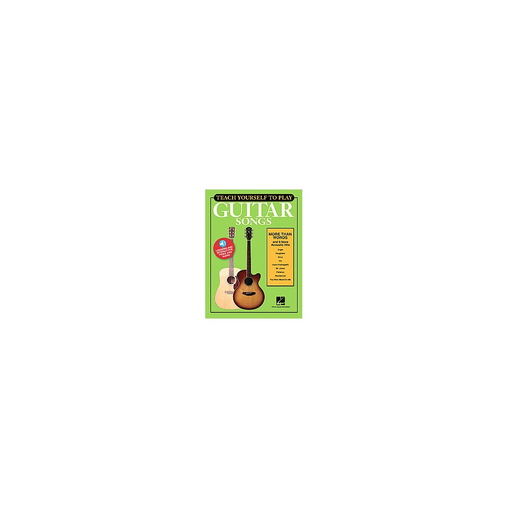 Teach Yourself to Play Guitar Songs : More Than Words and 9 More Acoustic Hits (Paperback)