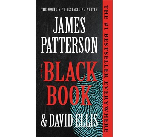 Black Book -  Large Print by James Patterson & David Ellis (Hardcover) - image 1 of 1