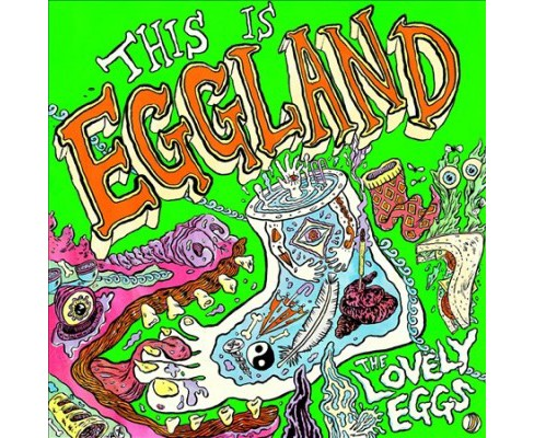 Lovely Eggs - This Is Eggland (CD) - image 1 of 1