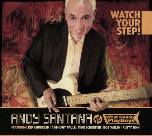 Andy santana - Watch your step (CD) - image 1 of 1