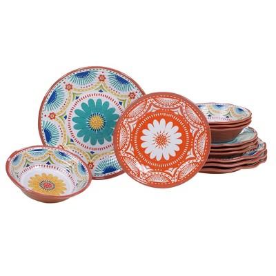 Vera Cruz 12pk Melamine Dinnerware Set - Certified International